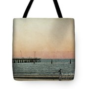 A Walk At Sunset Tote Bag