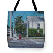 A Walk In Key West Tote Bag