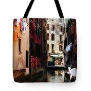 A Walk In Venice Tote Bag