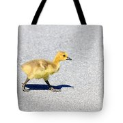 A Walk On Asphalt  Tote Bag