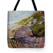 A Walk On The Beach Tote Bag