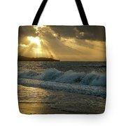 A Walk On The Kenyan Coast Tote Bag