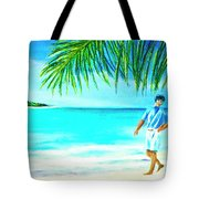 A Walk On Waikiki Beach #190 Tote Bag