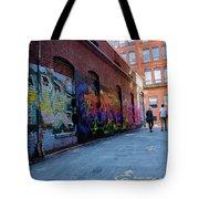 A Walk Through Color Tote Bag