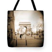A Walk Through Paris 3 Tote Bag by Mike McGlothlen