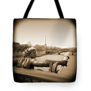 A Walk Through Paris 7 Tote Bag by Mike McGlothlen