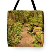 A Walk Through The Rainforest Tote Bag