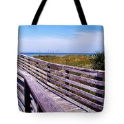 A Walk To The Beach Tote Bag