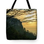 A Warm Autumn Morning Tote Bag
