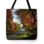 A Warm Fall Day Tote Bag