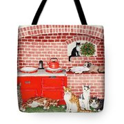 A Warm Place Tote Bag