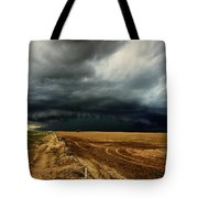 Nature's Watering Of The Crops Tote Bag