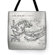 A Wave For Dr Wave Tote Bag