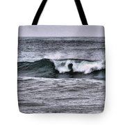 A Wave On The Ocean Tote Bag