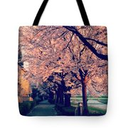 A Way Under The Cherry Blossom Tote Bag