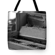 A Weathered Piano Tote Bag