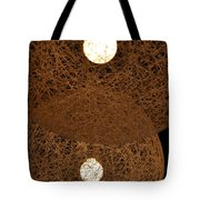 A Web Of Photons Tote Bag