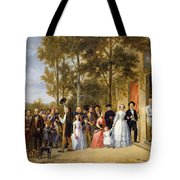 A Wedding At The Coeur Volant Tote Bag