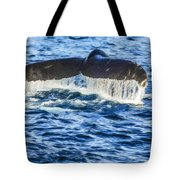 A Whale Of A Tail Tote Bag