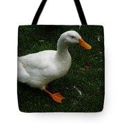 A White Duck Tote Bag
