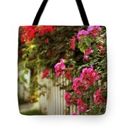A White Picket Fence Tote Bag