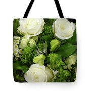 A White Roses Bouquet For You Tote Bag