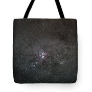 A Wide Field View Centered On The Eta Tote Bag by Luis Argerich