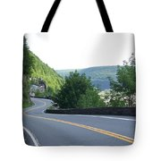 A Winding Road Tote Bag