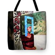 A Window Of Mind Tote Bag
