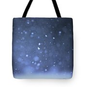 A Snowy Afternoon Tote Bag