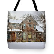 A Winter Haunting Tote Bag
