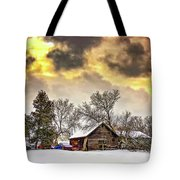 A Winter Sky Tote Bag