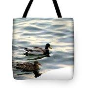 A Winter Swim Tote Bag