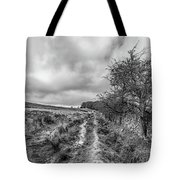 A Winter Track Tote Bag