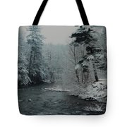 A Winter Waterland Tote Bag