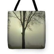 A Winter's Day In The Fog Tote Bag