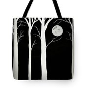 A Winters Night Tote Bag