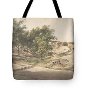 A Wooded Landscape Near Beekhuizen Tote Bag