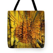 A Woody Texture Tote Bag
