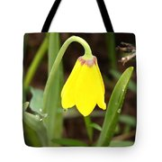 A Yellow Bell's Tear Tote Bag