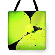 A Yellow Bud Of Waterlily Tote Bag