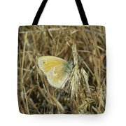 A Yellow Moth  Tote Bag
