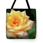 A Yellow Rose Tote Bag