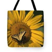 A Yellow Swallowtail Tote Bag