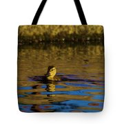 A Young Duckling Tote Bag