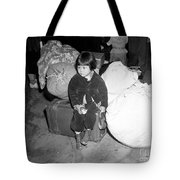 A Young Evacuee Of Japanese Ancestry Tote Bag by Stocktrek Images