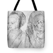 A Young Girl Of Cologne And Dbcrer Wife 1520 Tote Bag
