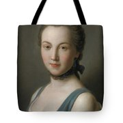 A Young Lady Tote Bag