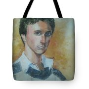 A Young Man Tote Bag