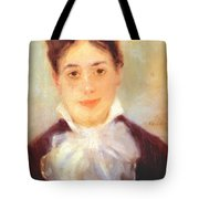 A Young Woman 1875 Tote Bag